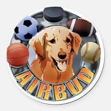 Air Bud Color Logo Round Car Magnet