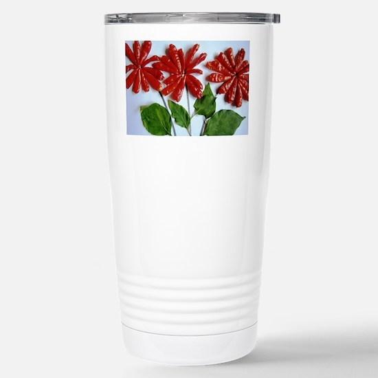 Flowering Chilli Stainless Steel Travel Mug