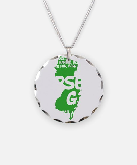 jersey girl(blk) Necklace