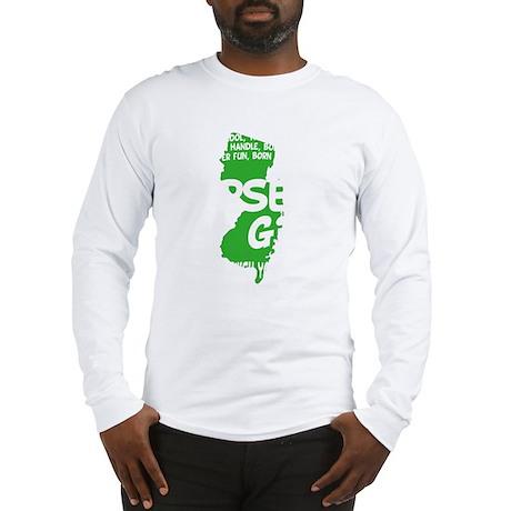 jersey girl(blk) Long Sleeve T-Shirt