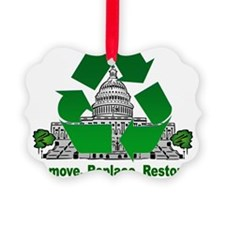 Recycling Ornament