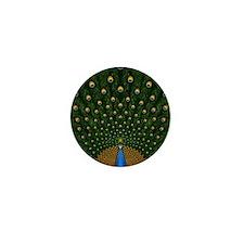 Peacock_Pillow Mini Button