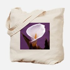 2-Calalilly_Purple_Pillow_vectorized Tote Bag