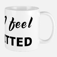 Today I feel committed Mug