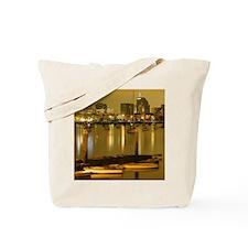 2-Golden_Harbor_Pillow Tote Bag