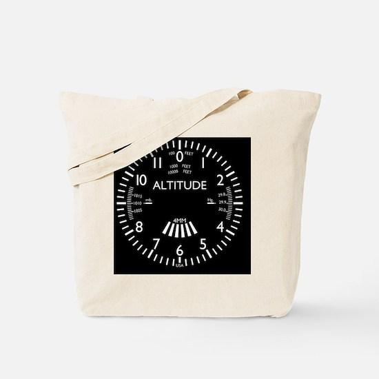 altimeter_clock Tote Bag