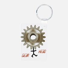gearhead01 Keychains