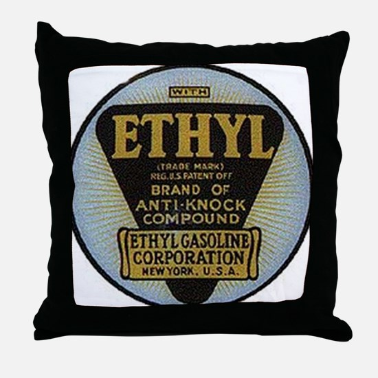 ethyl2 Throw Pillow