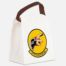 27th_fs Canvas Lunch Bag