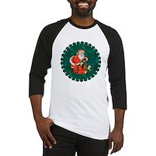 Happy Father Christmas Baseball Jersey