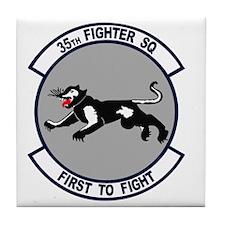 35th_fs_fighter_squadron Tile Coaster
