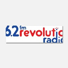 Revolution Logo Original Car Magnet 10 x 3