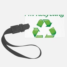 recycle Luggage Tag