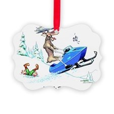 Moose On The Loose Ornament