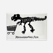 4-mamasaurus_shopper Rectangle Magnet