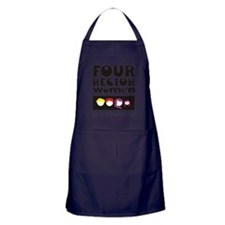4 Rector Women WDW 2 Apron (dark)