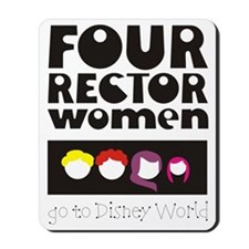 4 Rector Women WDW 2 Mousepad
