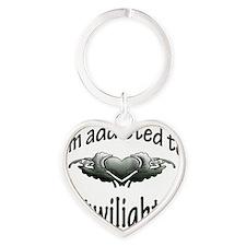 addicted to twilight Heart Keychain