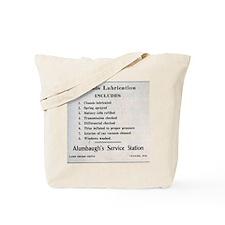 1931_service_station Tote Bag