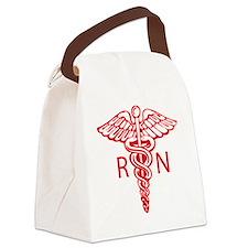 Design_4_Caduceus copy Canvas Lunch Bag