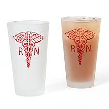 Design_4_Caduceus copy Drinking Glass