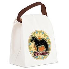 friesian-grunge Canvas Lunch Bag