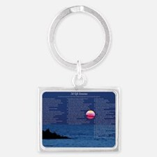 All50_Sunset_11x17 Landscape Keychain