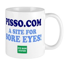 PISSCO EYE WASH - SITE FOR SORE EYES Mugs