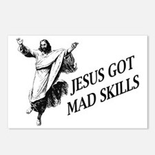Jesus got mad skills Postcards (Package of 8)