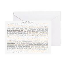All50ScriptCard Greeting Card