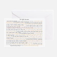 All50ScriptCard Greeting Card