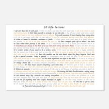 All50ScriptCard Postcards (Package of 8)