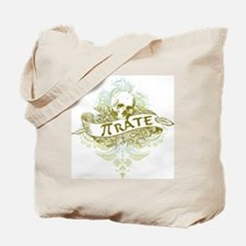 Pi Pirate Tote Bag