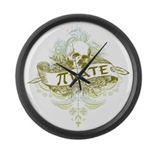 Pi Pirate Large Wall Clock