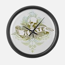Pi Pirate Large Wall Clock