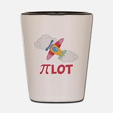 Pink Pilot Pi Shot Glass