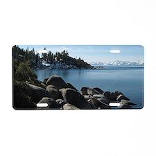 Lake Tahoe, Incline Village Aluminum License Plate