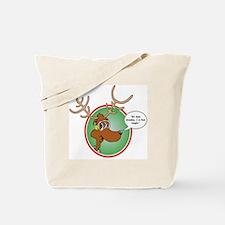 Grandma Got Run Over by a Reindeer Tote Bag