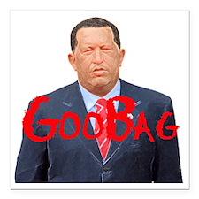 "Hugo_Chavez GB.gif Square Car Magnet 3"" x 3"""
