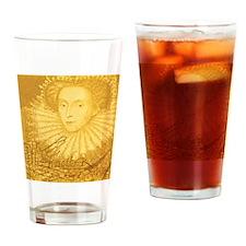Coaster_QueenElizabethI_v2 Drinking Glass