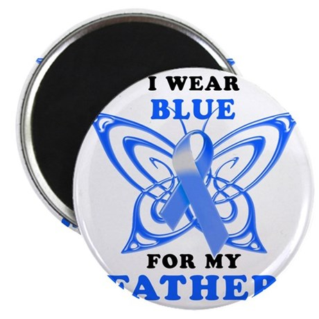 I Wear Blue for my Father Magnet