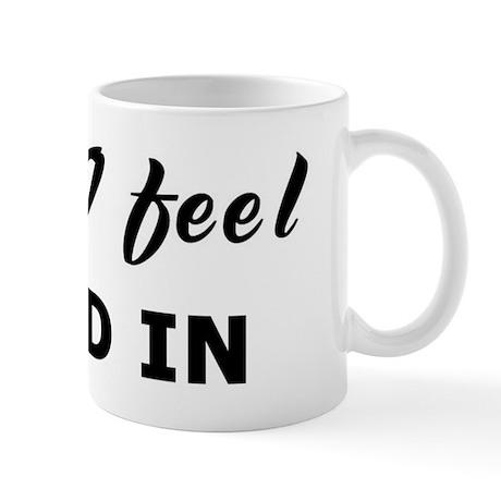 Today I feel clued in Mug