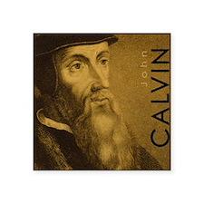 """Mousepad_Head_Calvin Square Sticker 3"""" x 3"""""""