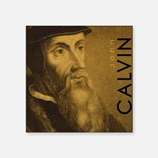 "Mousepad_Head_Calvin Square Sticker 3"" x 3"""