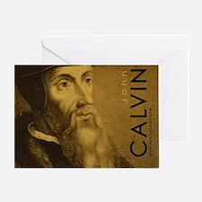 Mousepad_Head_Calvin Greeting Card