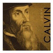 "Mousepad_Head_Calvin Square Car Magnet 3"" x 3"""
