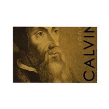 Mousepad_Head_Calvin Rectangle Magnet