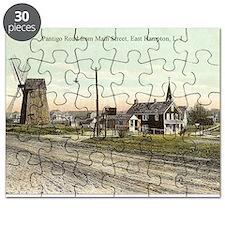 East Hampton - Pantigo Road postcard Puzzle