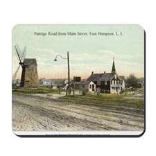 East Hampton - Pantigo Road postcard Mousepad