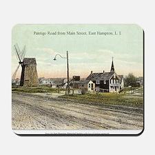 East Hampton - Pantigo Road postcard Mousepad